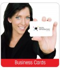 Business Cards - Laminated