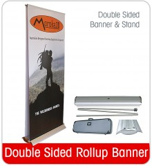 Rollup Banner - Double Sided