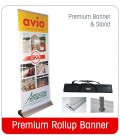 Rollup Banner 1000mm wide - Premium
